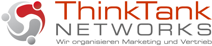 Master ThinkTank Networks Logo mit Claim RGB deutsch