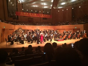 Gelungener Ausklang am Abend: chinesisch-deutsches Freundschaftskonzert in Shenyang.