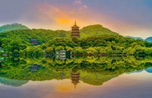 Der berühmte Westsee von Hangzhou