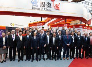 Hannover Messe 2018: Vertreter der Deutsch-Chinesischen Städteallianz