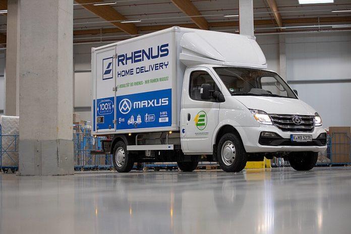 Rhenus testet E-Van von SAIC Motors Group
