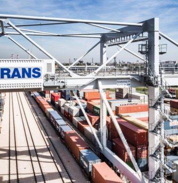 Metrans公司在新丝绸之路上的集装箱货运列车数量翻了一番
