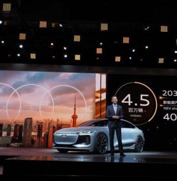 奥迪(Audi)在中国和美国创下销售纪录