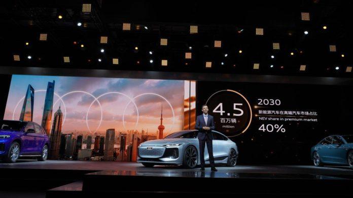 Audi mit Absatzrekord in China und USA